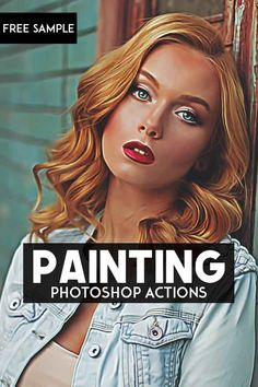 Free Painting Photoshop Actions via @creativetacos