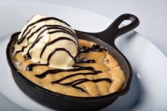 Giant Cookie Recipe: Brown Butter Chocolate Chip in a Skillet