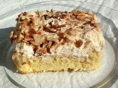 Dee's Coconut Tres Leches Cake