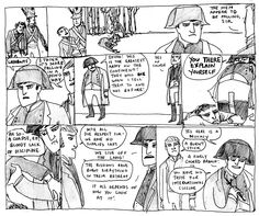 Napoleon in comics history, sampling the finest French cuisine...
