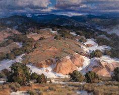 Clyde Aspevig - High Road to Taos; Dimensions: 101.6 X 127 cm.