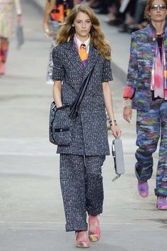 Chanel - Spring 2015 Ready to wear - Picture credits Style.com