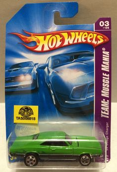Mattel Hot Wheels Racing Stock Car - Dodge Charger This item is NOT in Mint Condition and is in no way being described as Mint or even Near Mint. Our toys have not always lead the perfect life, nor ha