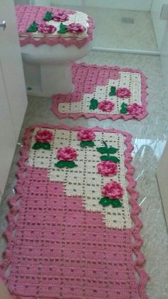 Granny Square Crochet Pattern, Crochet Flower Patterns, Crochet Stitches Patterns, Beading Patterns, Crochet Mat, Love Crochet, Crochet Doilies, Crochet Decoration, Crochet Home Decor