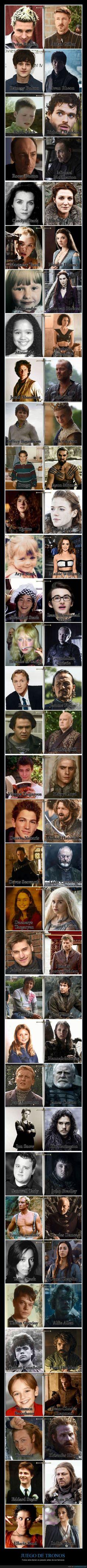 Cómo eran estos 35 actores de Juego de Tronos antes de ser famosos - Todos ellos tienen un pasado antes de ser famosos