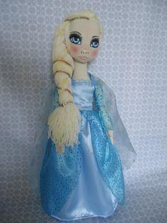 Boneca de Pano Frozen