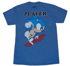 Sonic the Hedgehog Player T-Shirt: $15.99