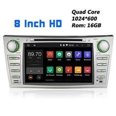 Special Offers - JOYING 8 Inch Quad Core Android 4.4.4 1024600 for Toyota Camry/Aurion 2006-2011 in Dash HD Touch Screen Car DVD Player GPS Navigation Stereo Support Bluetooth/SD/USB/DVR/3g/AV-in/1080p/Mirror Link - In stock & Free Shipping. You can save more money! Check It (June 14 2016 at 12:14AM) >> cargpsusa.net/...