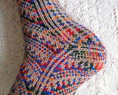 Turkish socks - heel