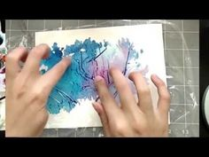 3 Simple Tricks for Unique Watercolor Textures - YouTube