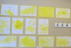 Surely there is nothing that could brighten a cold winter day more than lemon drop painting. The children began their day by exploring lemons during our first morning circle. Sensory Art, Sensory Activities, Toddler Activities, Teach Preschool, Preschool Ideas, Preschool Crafts, Summer School, School Fun, Summer Fun