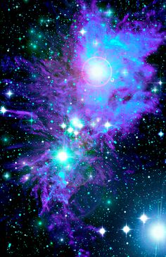 nebula art--this would looks so cool on our wall in the bedroom