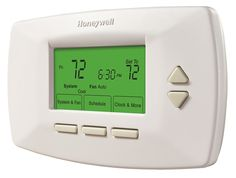 7-Day Conventional Programmable Thermostat - RTH7500D | Honeywell (Ours is the RTH7400D)