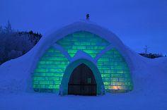 El hotel de hielo de Kemi