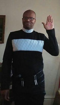 Me in a Logan's Run costume on Halloween