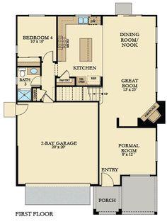 Dream Floor Plans On Pinterest New Home Plans New Homes