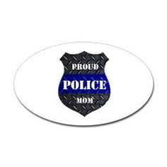 Proud Police Mom Sticker > Proud Police Mom > The Art Studio by Mark Moore