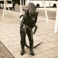 Alien cosplay (Alien Isolation)