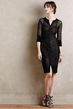 NEW-ANTHROPOLOGIE-258-BEGUILE-BY-BYRON-LARS-BLACK-MONA-DRESS-SZ-10