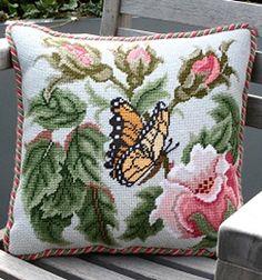Beth Russell tű Rose Garden Butterfly - pasztell