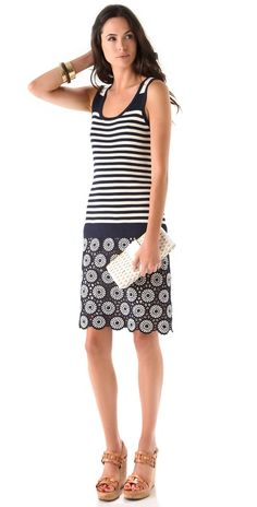 The Summer Clutch: Tory Burch woven whicker faux patent clutch <3