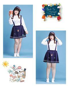 Plus size Asian fashion and cute casual fashion — Link
