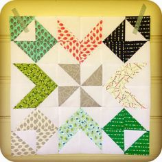 Two Little Banshees: Half Square Triangles