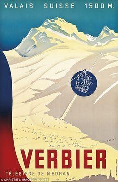 Skiing in Switzerland set to be celebrated with photograph sale Ski Vintage, Vintage Ski Posters, Retro Poster, La Provence France, Evian Les Bains, Fürstentum Liechtenstein, Dazzle Camouflage, Stations De Ski, Railway Posters