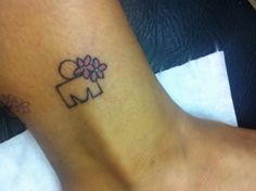 My ironman tattoo.
