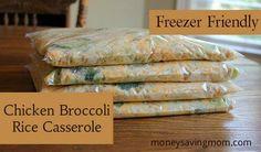 Chicken Broccoli Rice Casserole: Delicious and filling!