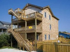 Salvo 4 br Ocean View Vacation Rental Home: Summer Palace