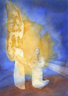 Annunciation, John Meng Frecker