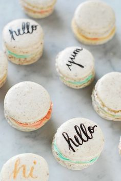 This is so adorable!! ~macaron typography~