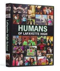 Lafayette High School (Lafayette, LA) | 2015 Yearbook Cover | Theme: Humans of…