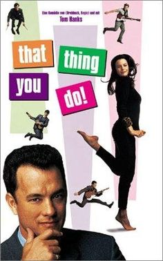 MOVIE PHOTO CHALLENGE #29: Most Underrated movie- That Thing You Do! Even I forget to put it on my favorite movie lists and I have seen it a million times and know every line. I know so many people who have never seen it, and they don't know what they are missing!