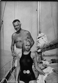 Gianni Agnelli and Heidi von Salvisberg, on board his yacht, Agenata, sometime in 1967. I'm not sure what TR could do with such an image. But it somehow suggests the irreducibility of the past, which is a metaphor for computational and mathematical irreducibility. (See: http://en.wikipedia.org/wiki/Computational_irreducibility)