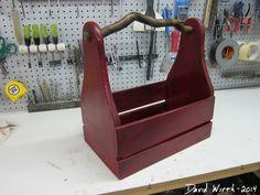 Wood Tool Box Vintage