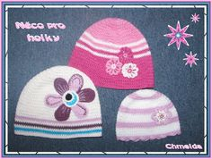 girls hats Girls Hats, Girl With Hat, Crochet Hats, Beanie, Fashion, Knitting Hats, Moda, Fashion Styles, Beanies
