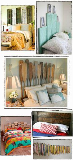 Inspiración: redecora tu dormitorio con un cabecero DIY