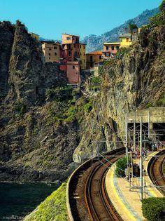 Manarola Station, Italy | Flickr: partage de photos!