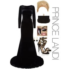 Dinner with the queen of England by prettyassprince on Polyvore featuring polyvore fashion style Jovani Paul Andrew LindseyMarie