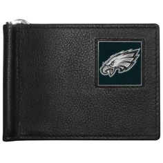 "Checkout our #LicensedGear products FREE SHIPPING + 10% OFF Coupon Code ""Official"" Philadelphia Eagles Leather Bill Clip Wallet - Officially licensed NFL product Licensee: Siskiyou Buckle Genuine fine grain leather wallet Metal, flip out bill clip Slim style wallet  with lots of storage Metal Philadelphia Eagles emblem with enameled team colors - Price: $22.00. Buy now at https://officiallylicensedgear.com/philadelphia-eagles-leather-bill-clip-wallet-fbcw065"