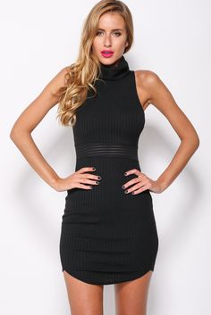 Roar Dress, Black, $59 + Free express shipping http://www.hellomollyfashion.com/roar-dress-black.html