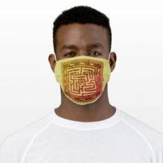 Cloth Face Mask MAZE OF HORSES autumn on yellow Westerns, Shape Of You, Health And Safety, Maze, Snug Fit, Sensitive Skin, First Love, Horses, Autumn