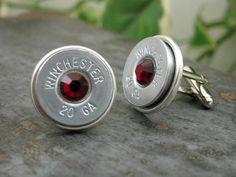 Shotgun Casing Jewelry  Winchester 20 Ga Nickel by thekeyofa, $36.00