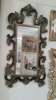 Regal, bold and striking mirror by Picturesque