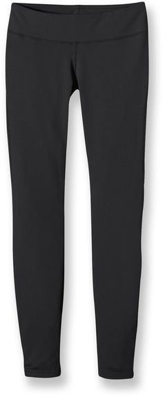 Get rid of those old tights and give your wardrobe a lift with the women's Patagonia Speedwork tights. Warm with just the right amount of stretch, they'll enhance your comfort and are perfect with fall boots!