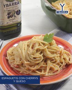 Pasta Facil, Queso Feta, Feta Pasta, Spaghetti, Favorite Recipes, Ethnic Recipes, Videos, Food, Gourmet