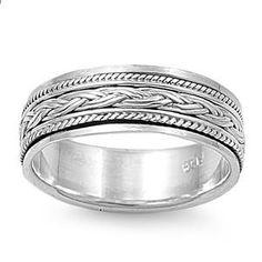 Silver Ring - Spinner-$18.98