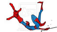 "Spider-Man "" maybe the last spidey. Spiderman Poses, All Spiderman, Spiderman Drawing, Amazing Spiderman, Character Poses, Character Design References, Comic Character, Comic Books Art, Comic Art"